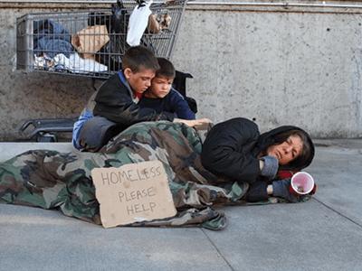 Kirk Elliott PhD homeless picture