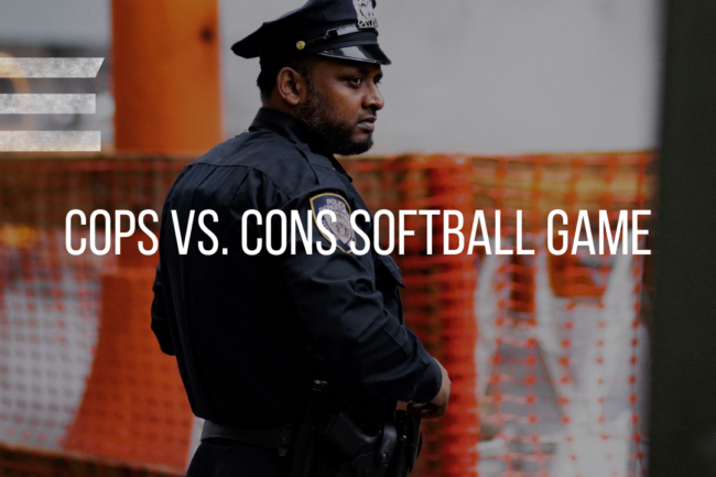 COPS VS CONS SOFTBALL GAME